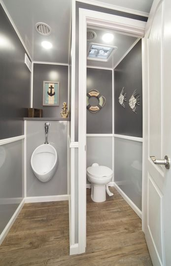 A Proper Privy - men's room