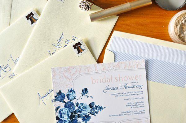 Tmx 1315942052519 VermontBridalShowerInvitesJessica Fairfax wedding invitation