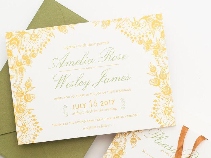 Tmx 1420643858673 Christaalexandradesignsweddinginvitationsstationer Fairfax wedding invitation