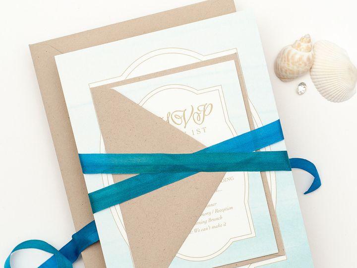Tmx 1420643880375 Christaalexandradesignsweddinginvitationsstationer Fairfax wedding invitation
