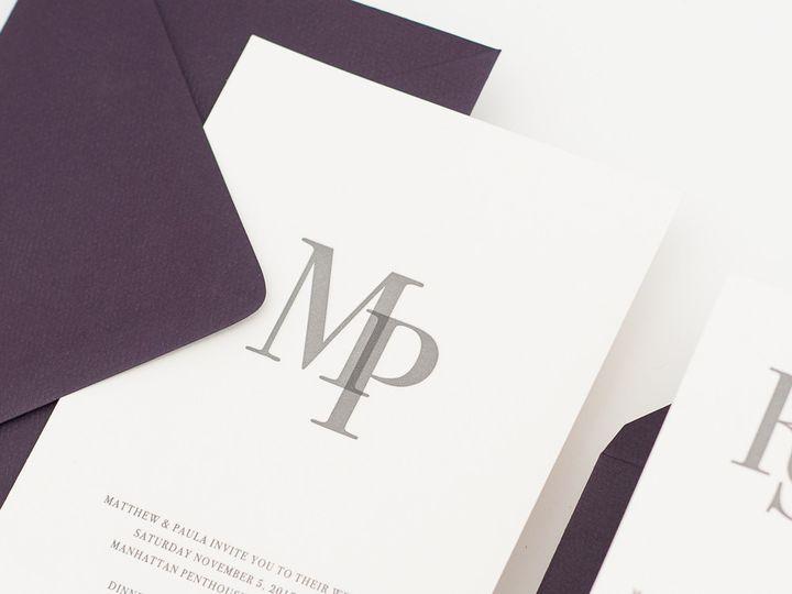 Tmx 1420643937569 Christaalexandradesignsweddinginvitationsstationer Fairfax wedding invitation