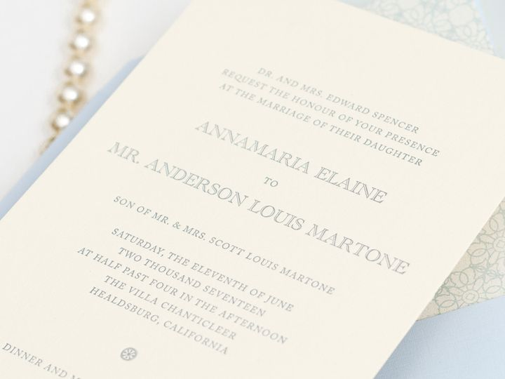 Tmx 1420643967025 Christaalexandradesignsweddinginvitationsstationer Fairfax wedding invitation