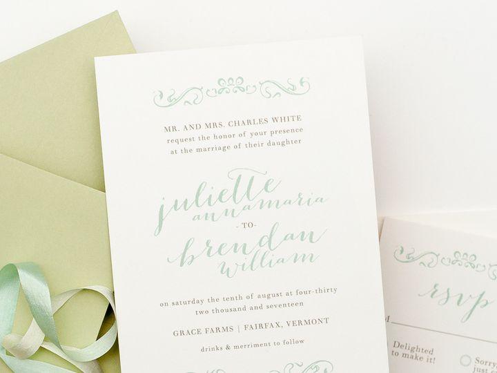 Tmx 1420644005656 Christaalexandradesignsweddinginvitationsstationer Fairfax wedding invitation