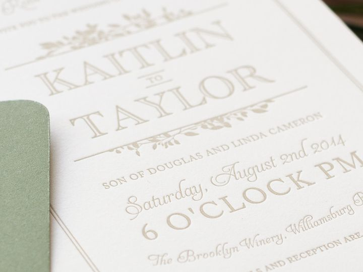Tmx 1420644026650 Christaalexandradesignsweddinginvitationsstationer Fairfax wedding invitation