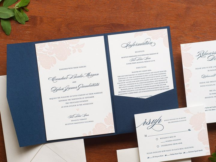 Tmx 1420644065953 Christaalexandradesignsweddinginvitationsstationer Fairfax wedding invitation