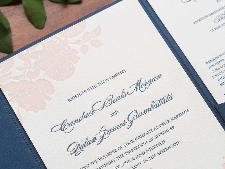 Tmx 1420644071573 Christaalexandradesignsweddinginvitationsstationer Fairfax wedding invitation