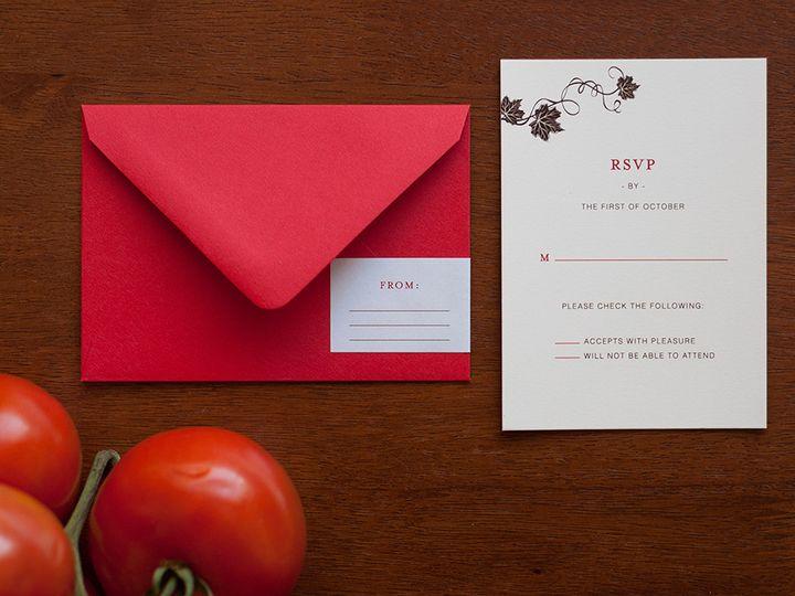 Tmx 1420644938776 Christaalexandradesignsitalianwineryelegantvineyar Fairfax wedding invitation