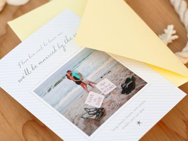 Tmx 1420644980129 Christaalexandradesignsstarfishshellsshorebeachwed Fairfax wedding invitation