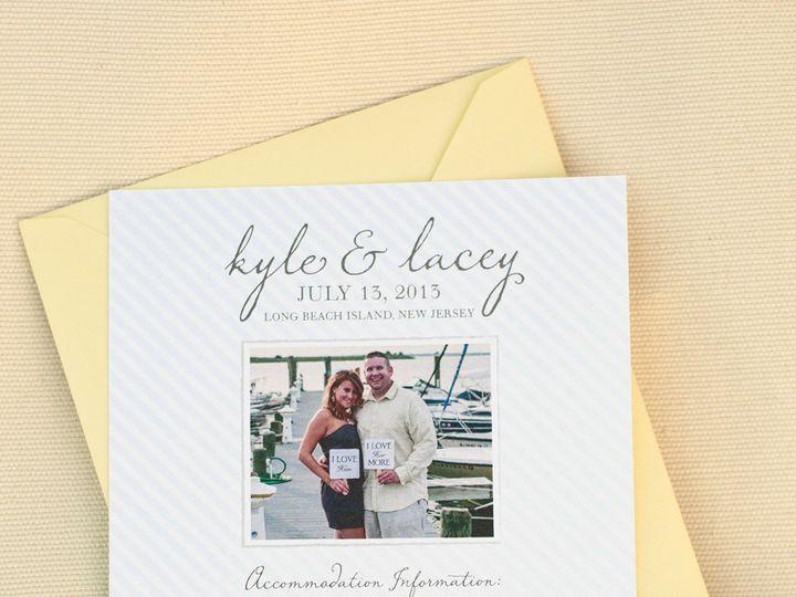 Tmx 1420644985190 Christaalexandradesignsstarfishshellsshorebeachwed Fairfax wedding invitation