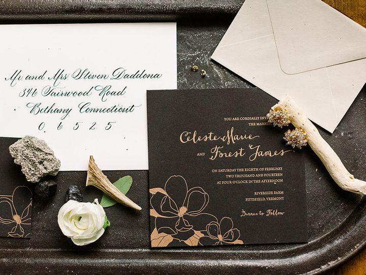 Tmx 1420645002886 Christaalexandradesignsweddinginvitationletterpres Fairfax wedding invitation