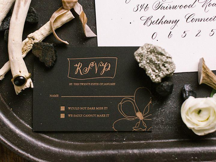 Tmx 1420645009481 Christaalexandradesignsweddinginvitationrsvpletter Fairfax wedding invitation