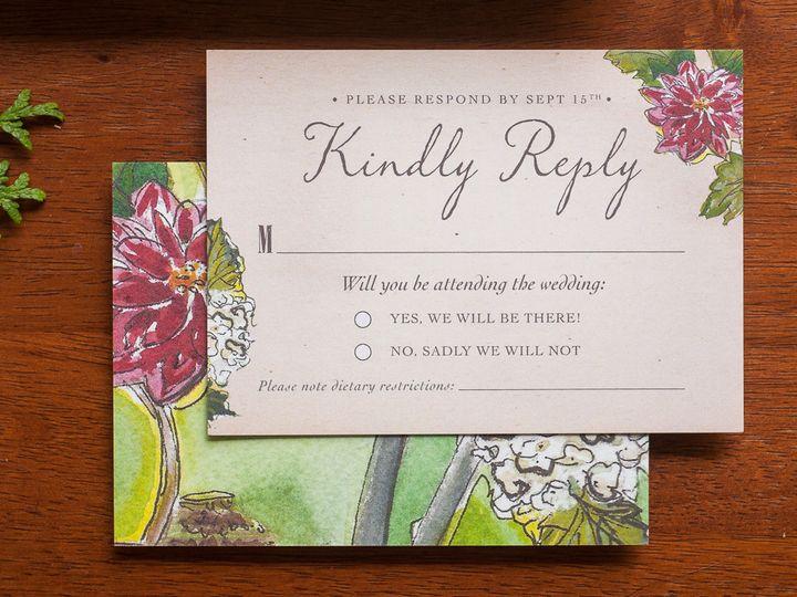 Tmx 1420645028793 Christaalexandradesignsweddinginvitationsrsvpreply Fairfax wedding invitation