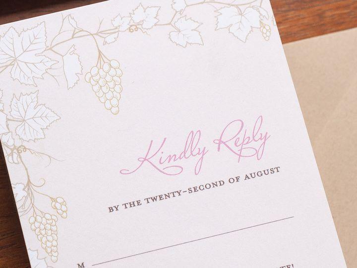 Tmx 1420645070727 Christaalexandradesignsweddinginvitationsrsvpreply Fairfax wedding invitation