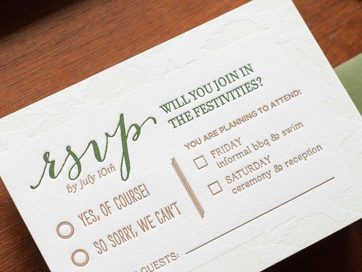 Tmx 1420645090704 Christaalexandradesignsweddinginvitationsrsvpreply Fairfax wedding invitation
