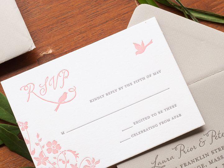 Tmx 1420645145928 Christaalexandradesignsweddinginvitationsrsvpreply Fairfax wedding invitation