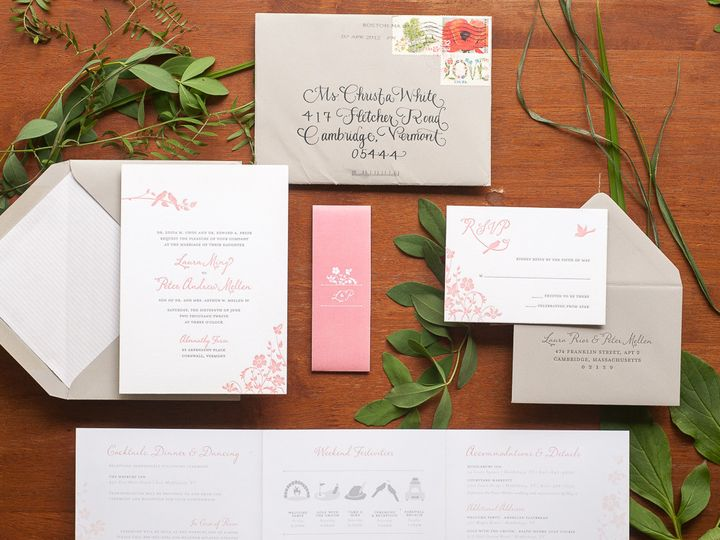 Tmx 1420645153658 Christaalexandradesignsweddinginvitationsrsvpreply Fairfax wedding invitation