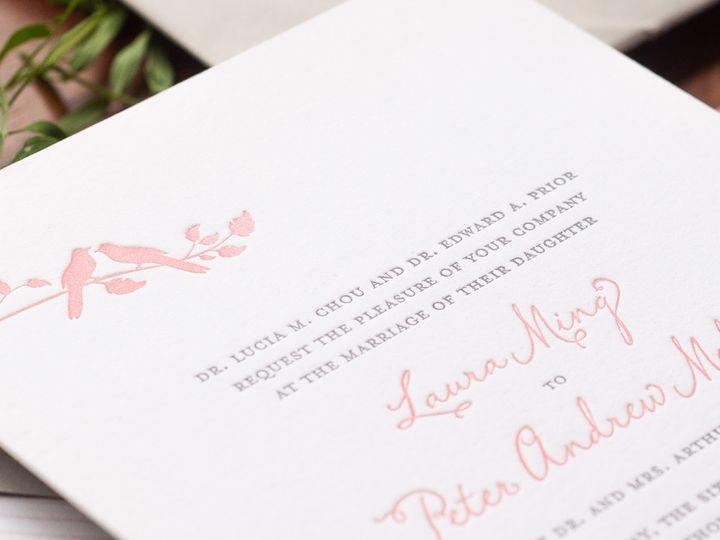 Tmx 1420645158402 Christaalexandradesignsweddinginvitationsrsvpreply Fairfax wedding invitation