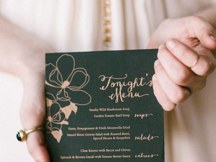 Tmx 1420645212945 Christaalexandradesignsweddingmenuletterpressblack Fairfax wedding invitation