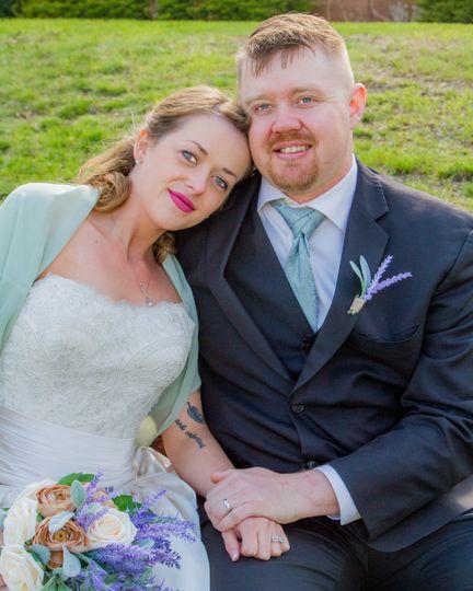 Married couple photos - Gale Fine Arts & Wyo Wedding Photography