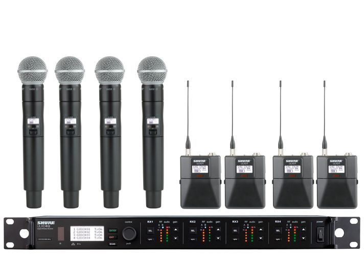 Wireless microphone rental pack