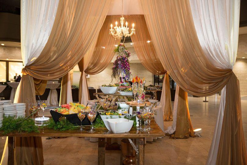 le cape weddings sumeet and chavi reception dinner buffet 9 51 1049531 160160812113428