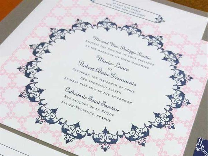 Tmx 1425925911510 1940 Raleigh, NC wedding invitation