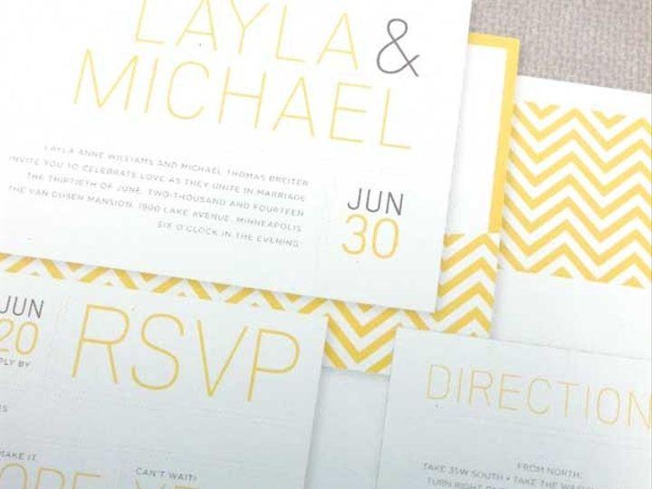 Tmx 1425926121732 1959 Raleigh, NC wedding invitation