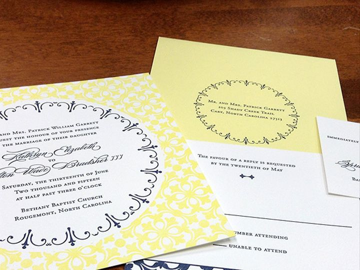 Tmx 1434638771868 June2 Raleigh, NC wedding invitation