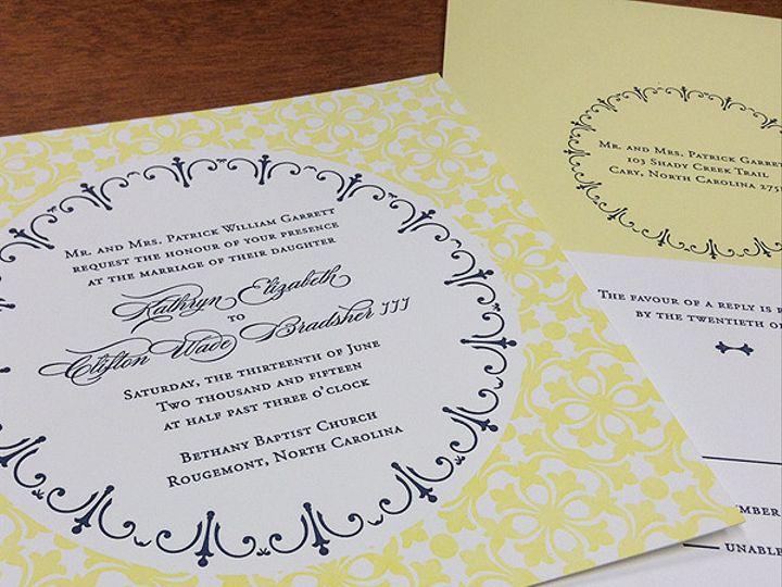 Tmx 1434638787407 June1 Raleigh, NC wedding invitation