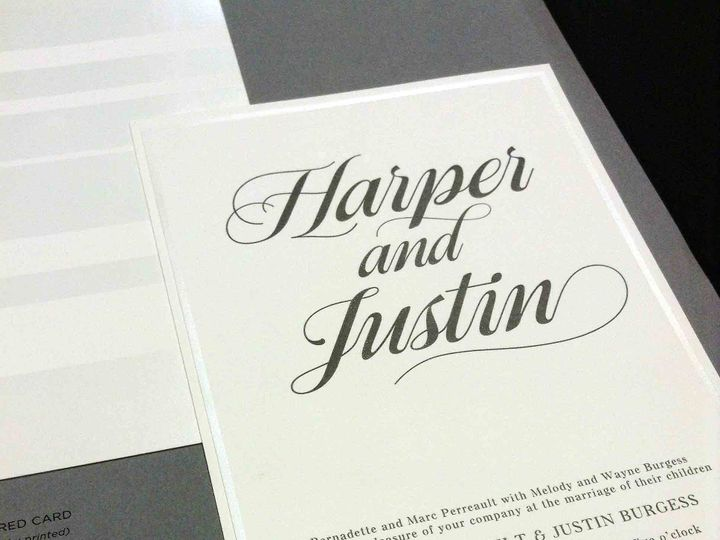 Tmx 1452737485329 Img3059 Raleigh, NC wedding invitation