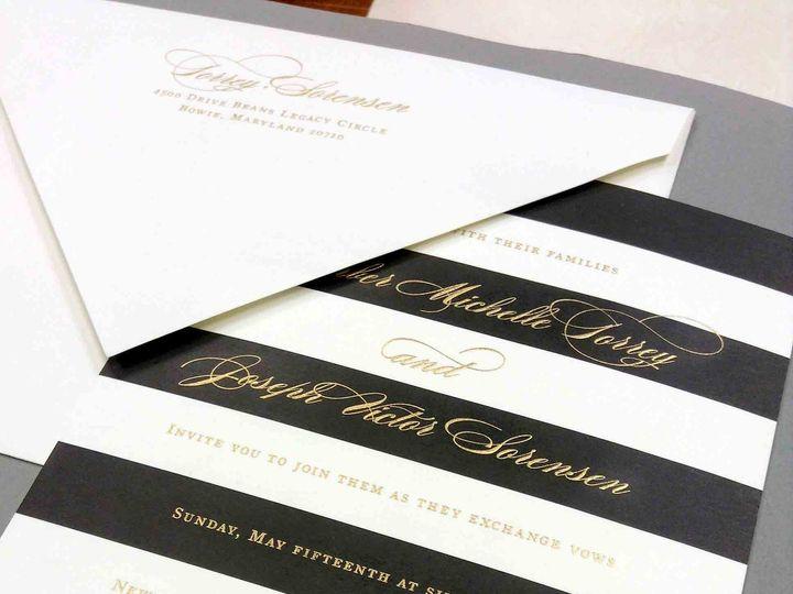 Tmx 1452739062018 Img3065 Raleigh, NC wedding invitation