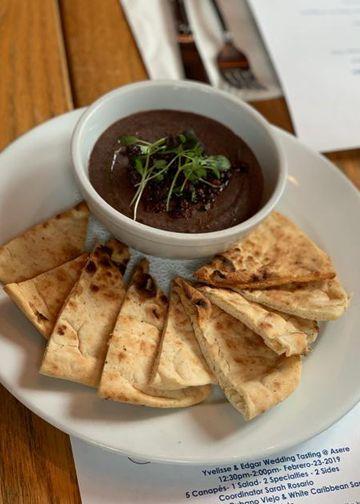 Caribbean Hummus Bean Tapenade