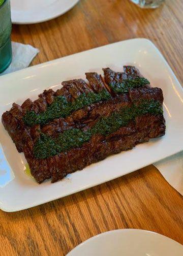 Steak Churrasco & Chimichurri