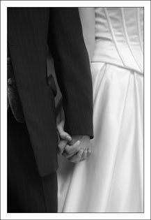 wedding photographer side photo