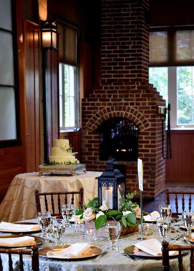 Magnolia Hall Fireplace