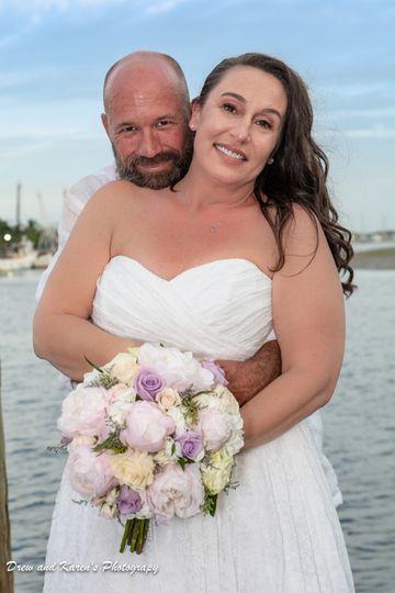 The happy couple (Drew and Karen's Photography)