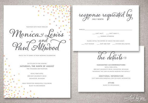 Tmx 1365521928458 Invitedbyyouwedmcb1 Commerce Township wedding invitation