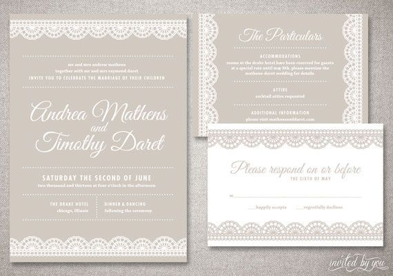 Tmx 1365522323623 Invitedbyyouwedml1 Commerce Township wedding invitation