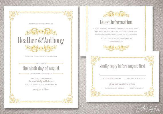Tmx 1365522421227 Invitedbyyouwedvv1 Commerce Township wedding invitation