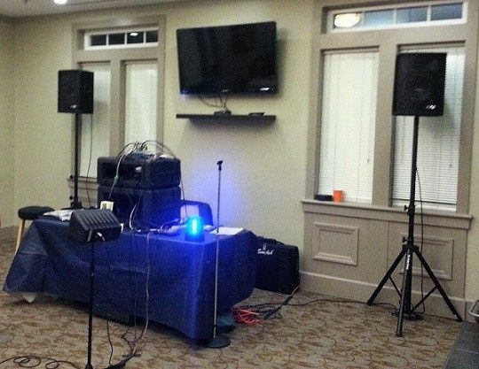 Office party setup