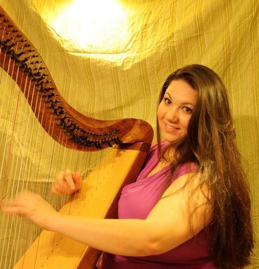 Harpist And Soprano Leah Jorgensen Ceremony Music