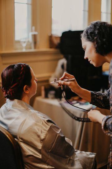 BTS Airbrush Makeup