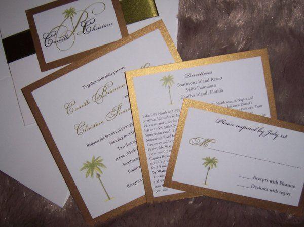 Tmx 1257812794488 NEWPICS015 Miami wedding invitation