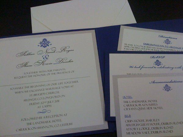Tmx 1291836468083 BLUEPOCKET002 Miami wedding invitation
