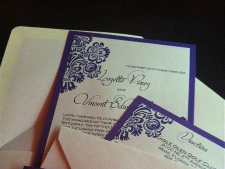 Tmx 1351024802851 4469231 Miami wedding invitation