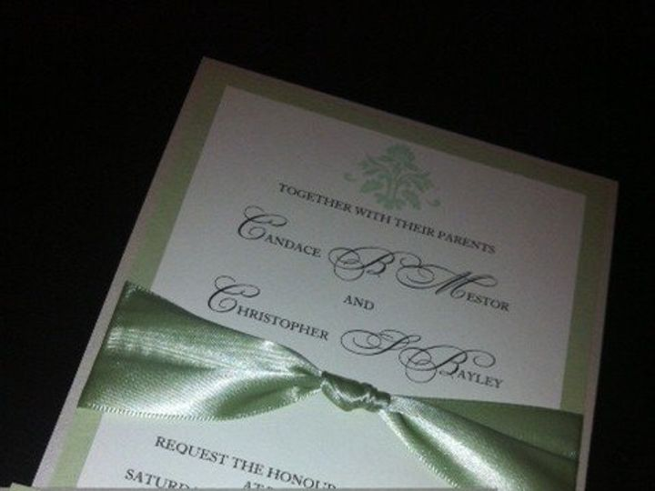 Tmx 1351024832132 Brenda Miami wedding invitation
