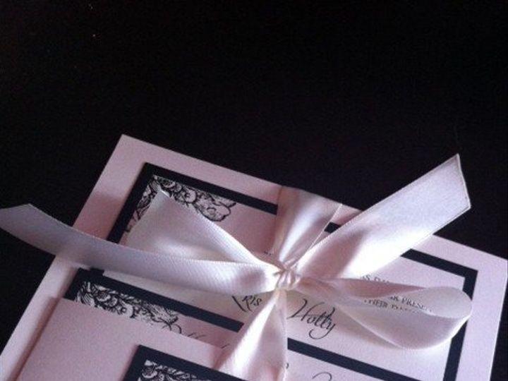Tmx 1351024869189 Katieblack2 Miami wedding invitation