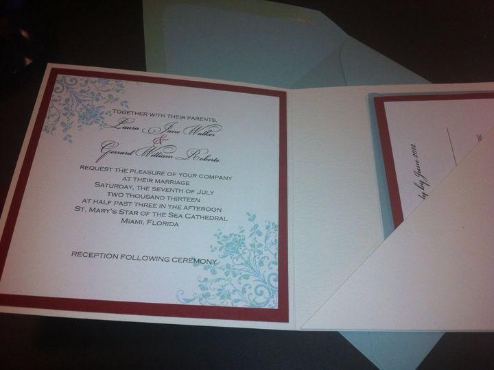 Tmx 1351024960732 Priscilla2 Miami wedding invitation