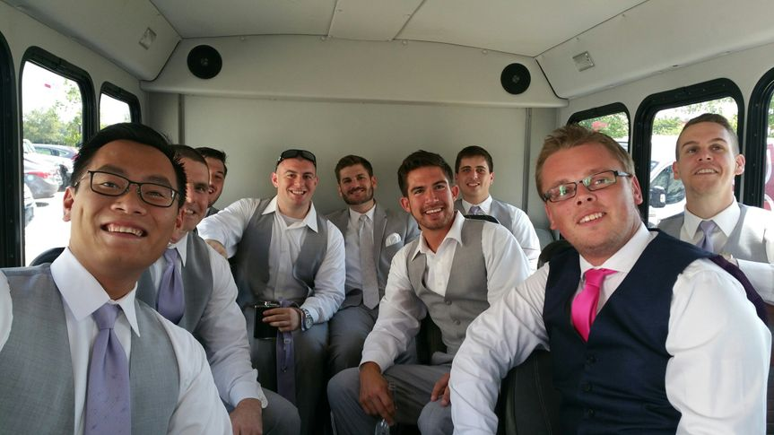 groomsmen gayer miller wedding