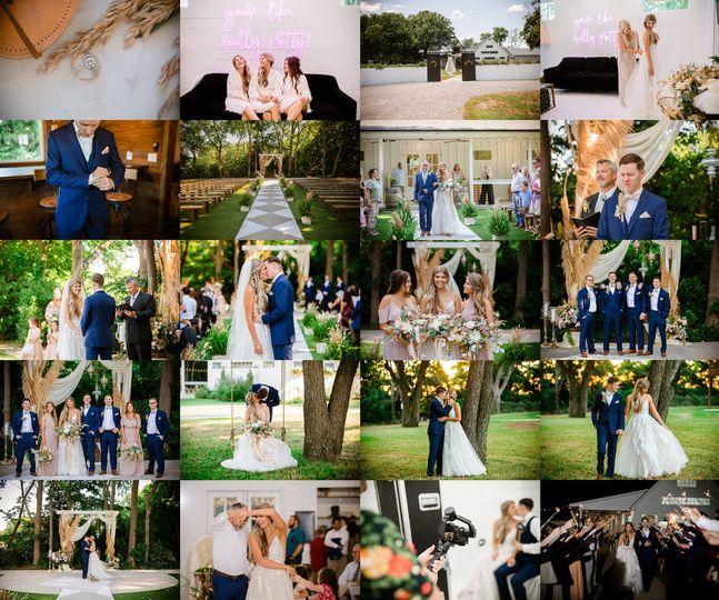 Wedding at Rosemary Barn